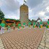 Osterfeld Burgfest mit Fanfarenzug