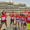 PINAY at DUBAI WOMENS RUN 2013