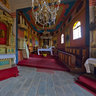 Jodlownik, wooden church - interior