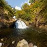 Kouyounotaki Autumn Leaves Waterfall