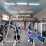 Тренажерный зал фитнес клуба Олимп