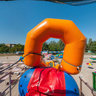 Water slide on the beach, Skadovsk