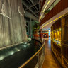 Dubai Mall Waterfall near TWG tea shop