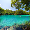 Efate - Vanuatu : SunBath at Blue Lagoon Swimming Hole
