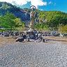 大鹿村大西観音像 Kannon statue