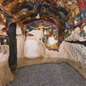 Cave church in Tatlarin, Turkey