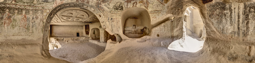 Üc Hacli Church, Cappadocia, Turkey