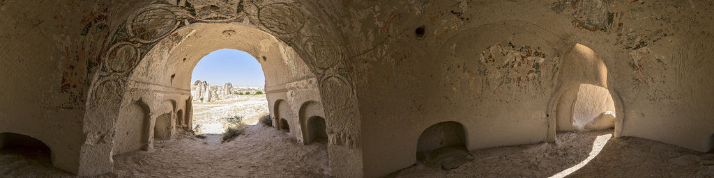 Cave Church in Cappadocia, Turkey