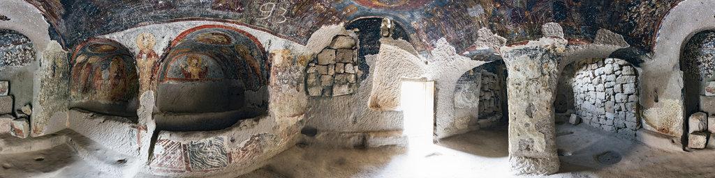 Yilanli Kilise, Soganli, Cappadocia, Turkey