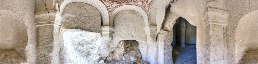 Kepez tuff rock churches, Cappadocia, Turkey