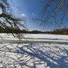 Winter im Nymphenburger Schlosspark - bei der Badenburg