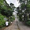 Ikegami Honmon-ji Temple : Stone Stairway