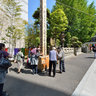 The public exhibition from Zenko-ji temple on Honjo Echo-in