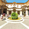 Octogonal Courtyard in the Vatican Museums, Rome, Italy