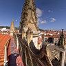 Basílica de Lekeitio, vista desde el tejado.
