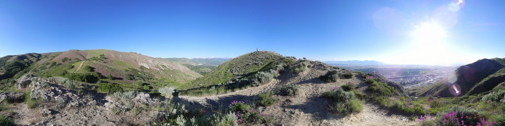 Ensign Peak, SLC, Utah, USA