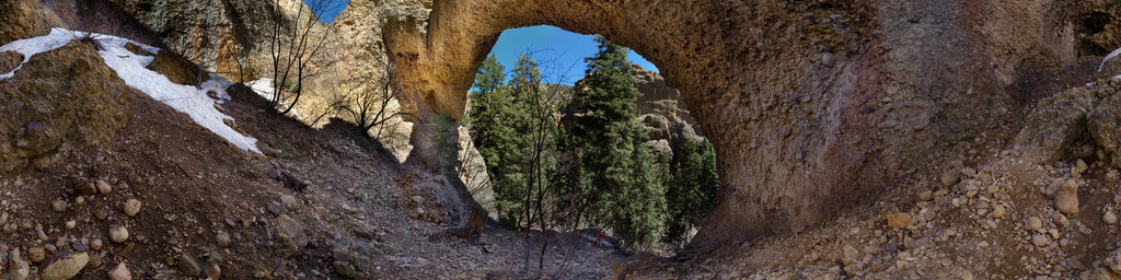 Maple Canyon Arch, Sanpete County, Utah, USA