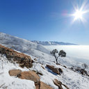 Above the Inversion, Red Butte, Salt Lake City, Utah, USA