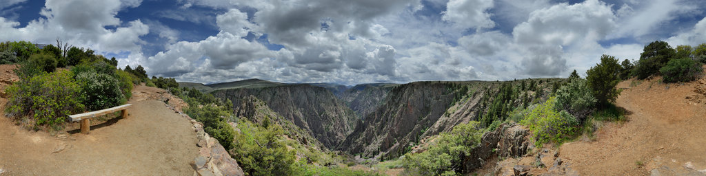 Tomichi Point, Black Canyon of the Gunnison National Park, Colorado, USA
