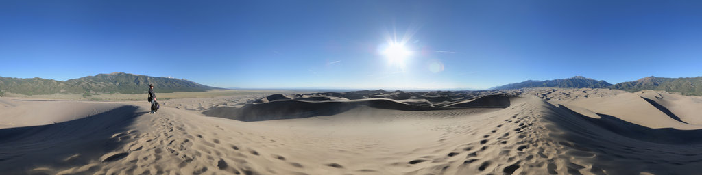 High Dune, Great Sand Dunes National Park, Colorado, USA