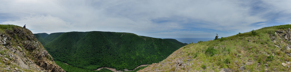 Meat Cove (Gorge), Cape Breton, Nova Scotia, Canada
