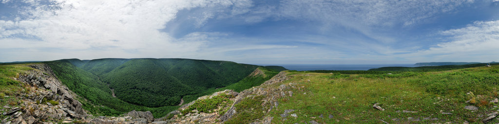 Meat Cove (High Meadow), Cape Breton, Nova Scotia, Canada