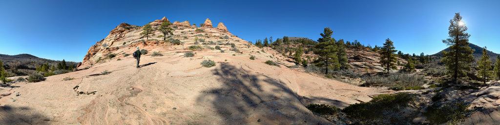 Hop Valley Trail, Zion National Park, Utah, USA