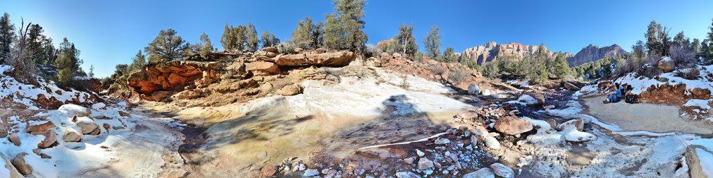 Scoggins Wash, Zion National Park, Utah, USA