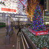 The plaza in front of Shibuya Hachi-kou - christmas illumination
