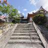The Shikata ruins of a castle. Teru-hime, Wife of Kanbei Kuroda.