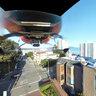 Above Twisty Lombard Street, San Francisco CA