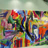 Pablo Contrisciani at ArtCenter/South Florida - Abstract Energies Paintings