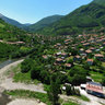 overlooking the village Tserovo