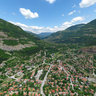 Look to the village of Tserovo from
