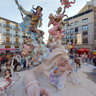 Falla de Convento Jerusaln, Valencia 2012