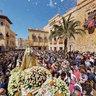 Procession of Hallelujahs, Plaza de Baix, Elche 2012