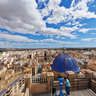 Panoramic view of Elche from the bell tower of Santa Mara