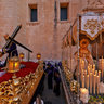 Preparations for the Good Friday procession, Elche 2013