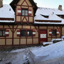 Nuremberg Castle in Winter - Courtyard