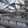 Beer garden  - Winter