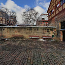 Nuremberg Castle in Winter - Courtyard 2
