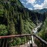 """Lower Umball Falls """"Blick von der Kanzel"""""""