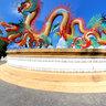Chinese Dragon Statue, Utthayan Sawan Park, Nakhon Sawan