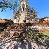 Wat Phra Si San Phet, Main Chedis, Ayutthaya