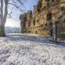 Castle Ruins in Dalecin, Czech Republic - 1