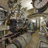 WWii Submarine - Engine room