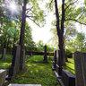 Jewish cemetery near the Nová Bystřice