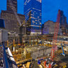New York City Ground Zero - World Trade Center site on September 11, 2007