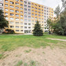 In the Middle of Blocks of Flats in Kladno, Czech Republic
