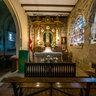 Chapel in Salvador church of Bejar